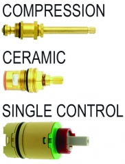 Stems & Cartridges By Type