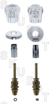 Sterling* 2 Valve Tub & Shower Rebuild Kit