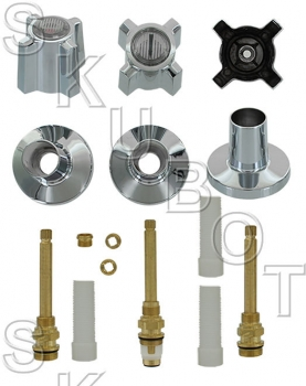 Sterling Rockwell* #332 Long Stem Rebuild 3 Valve Kit