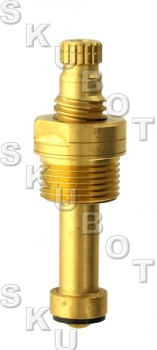 American Brass* Replacement Stem -LH Cold -18 TPI