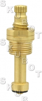 American Brass*/ Streamway* Replacement Stem -LH Cold -20 TPI