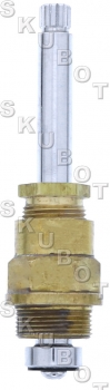 Block Brass* Tub & Shower Replacement Stem -LH Cold -12 Pts -Rar