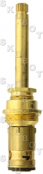 Central Brass* Tub Shower Non-Rising Stem -RH -H/C -Rare