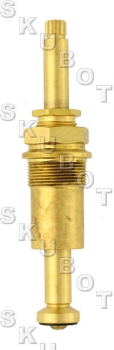 Central Brass* Replacement Stem RH -Hot or Cold<BR>Rare