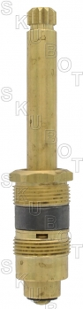 Crane* Tub & Shower Stem<BR>With Sleeve -1/2in Shank RH H/C