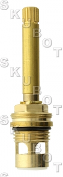 Phylrich* Replacement Ceramic Disc Cartridge -H/C -Pol Brass